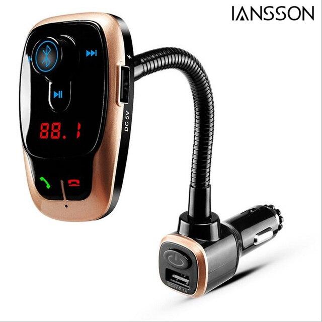 New Bl106 Multi Function Car Bluetooth Handsfree Kit Fm Transmitter