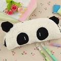 1 unids Gran Capacidad de Peluche Niños Pluma Caja de Lápiz Del Bolso de Escuela de La Panda Colgante de Regalo de Útiles Escolares