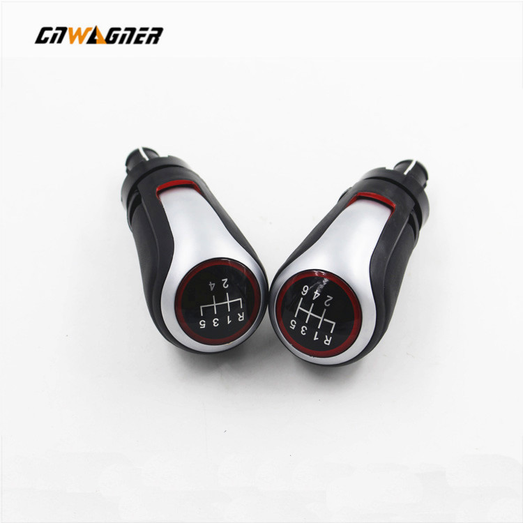 Car Styling shifter knobs 5 Speed and 6 Speed Gear Knob Only Lever for VW Golf 7 MK7 CNWAGENR
