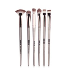 New Makeup Brushes 6 PCS Professional Blending Eyeshadow Eyebrow Brush For Foundation Powder Blush Set