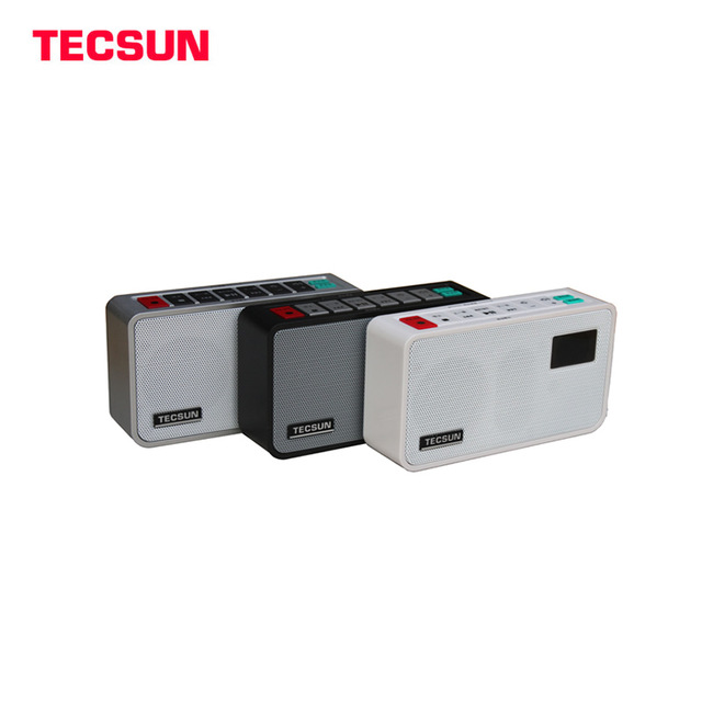 Tecsun ICR 100 ICR100 FM Portable Radio Receiver with Digital Recorder MP3 Player font b Speaker