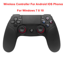 Bluetooth Wireless Gamepad Controller For Android IOS Mobile Phone for Windows PC 7 8 10 Joysticks