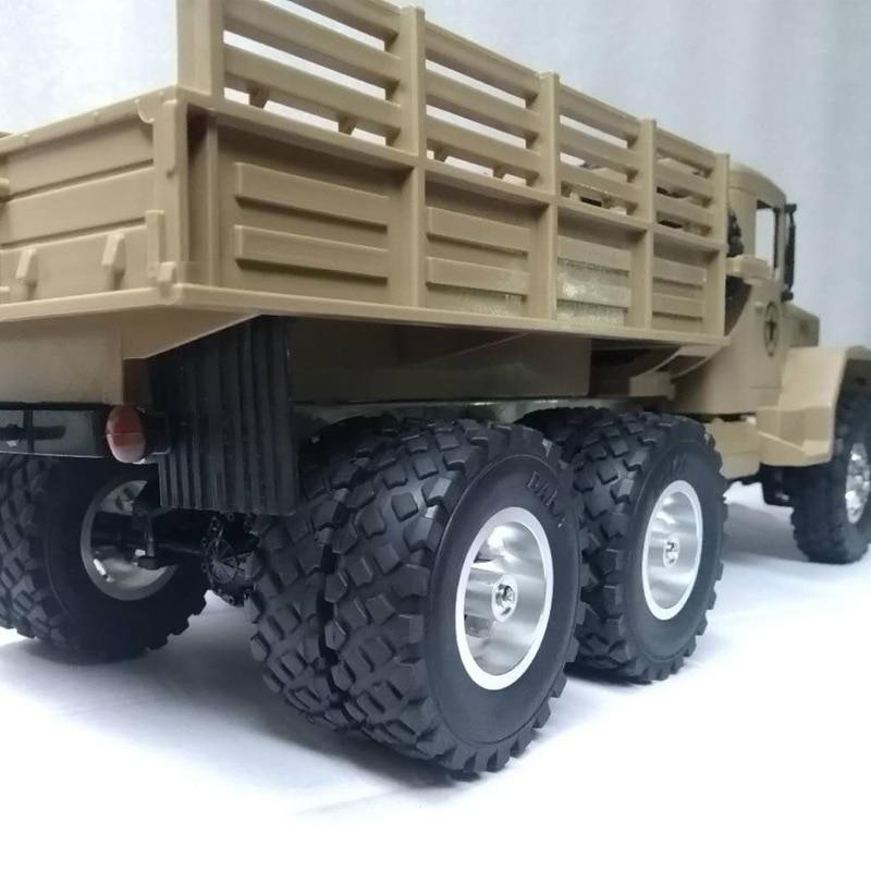 WPL B14 B24 B16 B36 JJRC Q60 Q61 Four-six-drive Army Kass special double tire metal wheel DIY upgrade modification model