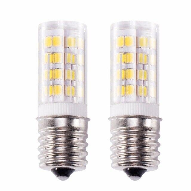 Kohree 2 Packs E17 LED Oven Light Bulb, 4W 6000K Stove Bulb Light for kitchen Daylight White, Non-dimmable