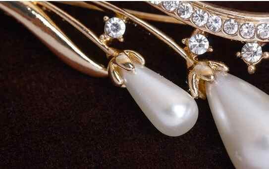 Semplici fiori spilla gioielli per le donne/uomini di modo gioielli pin spilla Sciarpa del metallo regalo di Nozze accessori Gioielli fai da te