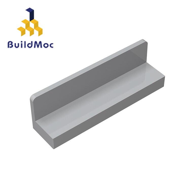 BuildMOC 15207 30413 43337 1x4x1 Wall Panel Brick Building Blocks Parts DIY  Educational Creative Gift Toys