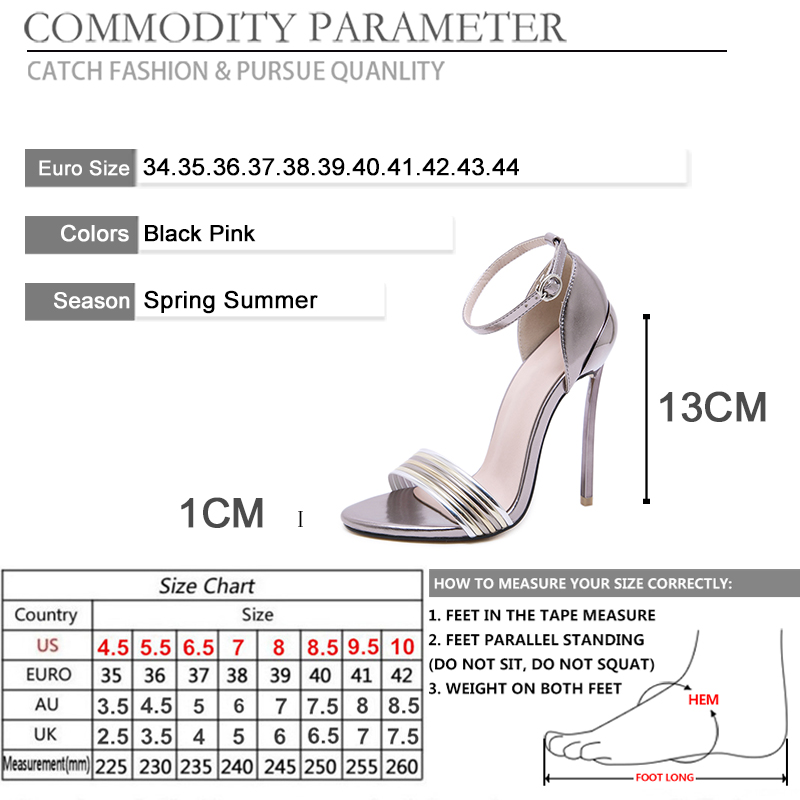 BYQDY Fashion Office Lady Bling Women Heeled Sandals Open Toe Stiletto Heels Roman Cover Heel Pumps High Heels Casual Shoes Size in High Heels from Shoes
