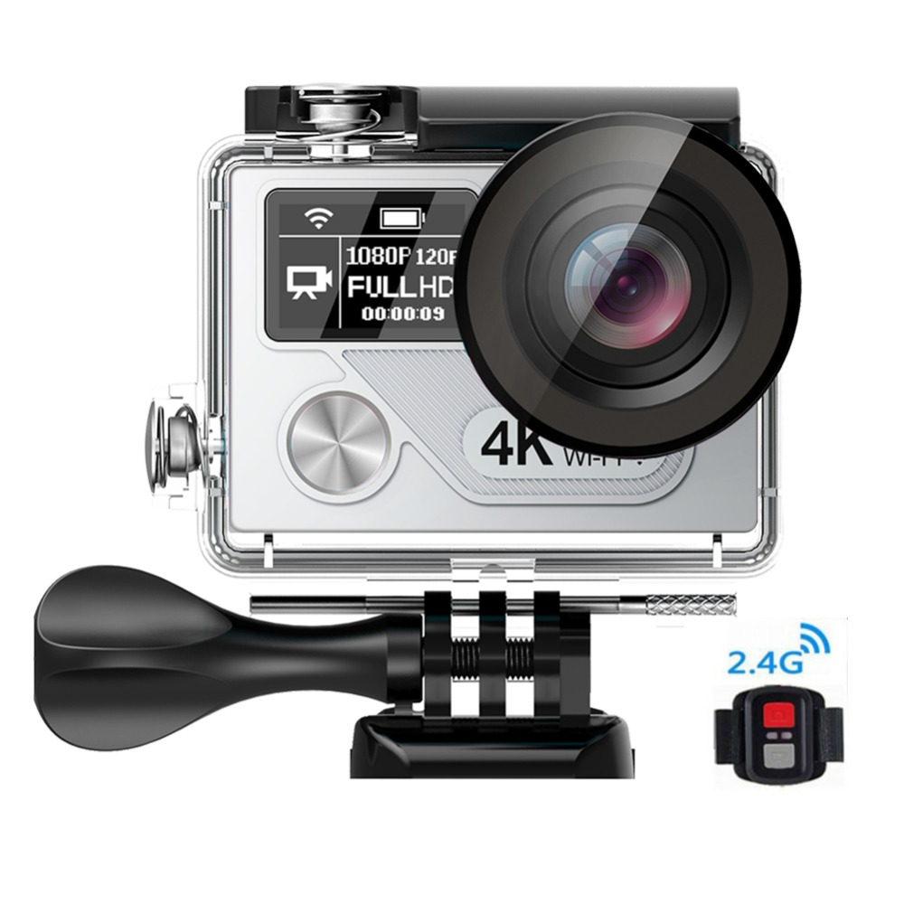 Ultra HD 4k Action Camera Mini Sport Cam H8R H8pro H8plus 30meters Underwater Sport Camcorder Remote WIFI Camera Action Freeship h9 ultra hd 4k wifi 2 0 inch bicycle snorkeling surfing helmet sport camera video camcorder waterproof 30 meters under water