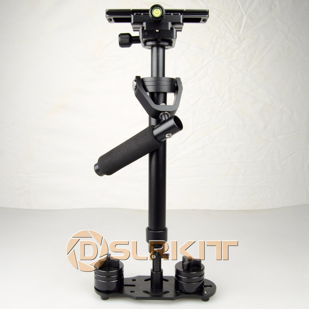 купить Updated S60 Mini Balance Handheld DSLR Camera Stabilizer Load Weight 3.5KG по цене 4807.04 рублей