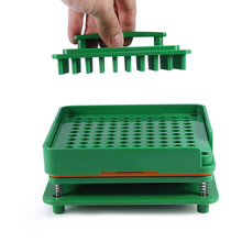 100 Holes Capsule Filler Board Food Grade ABS Filling Tools Fit for 0 Capsule WS99 цена 2017