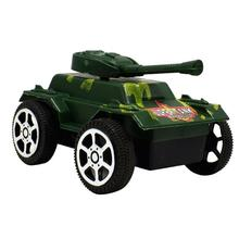 2018 New Plastic Tank Toys for Boy Kids Pull Back Tank Cars