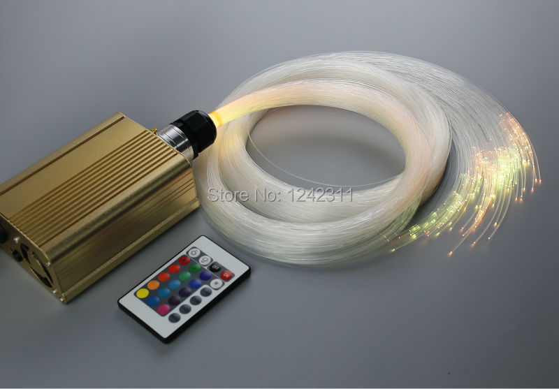 Home Decoration mini optical fiber light kit bedroom wall/ceiling light DIY stars night lighting hp designjet t120