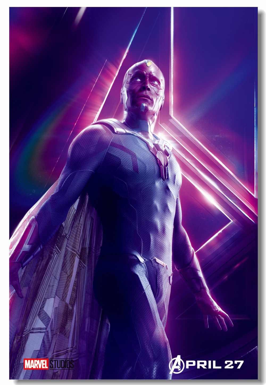 Custom Canvas Wall Decor Avengers Infinity War Poster Elizabeth