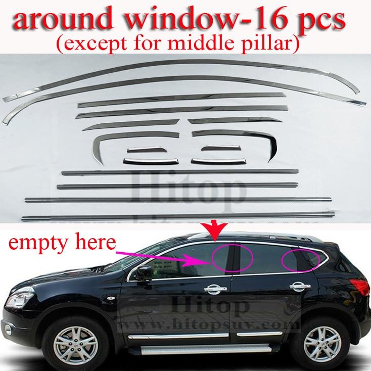 Aliexpress.com : Buy Qashqai Window Trim Sill,cover/frame