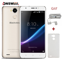 "Origine Blackview R6 4G Mobile Téléphone 5.5 ""FHD MTK6737 Quad core Android6.0 Smartphone 3 GB + 32 GB 13MP D'empreintes Digitales ID téléphone portable"