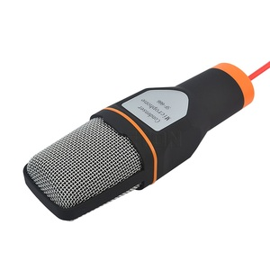 Image 2 - Kebidumei 1pc mikrofon studyjny podcast dźwięk Podcast Studio mikrofon na PC Laptop Skype MSN Karaoke mikrofon biurkowy