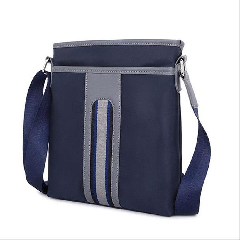 KUNDUI Boys Oxford cloth business Men Bags Shoulder Crossbody Messenger  Small Casual Handbags Male Travel Bag Vertical section ff32458fb0