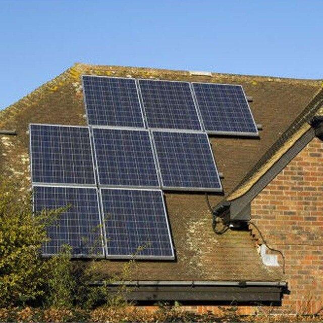 Solar Panel 200w 24v 2 Pcs Solar Home System 400 Watt Solar Battery Charger Caravan Car Camping Rv Motorhome Outdoor  LM