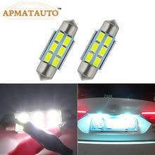 2x36 мм без ошибок номерной знак светильник светодиодный лампы C5W для Volkswagen VW Passat B5 B6 3c Golf 3 4 5 6 Polo JETTA GTI GOLF