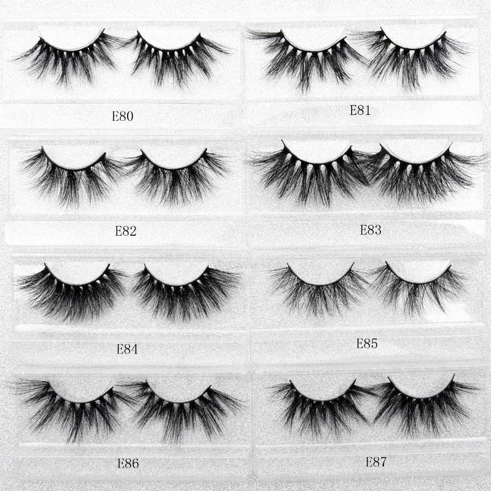 b5732e1c5c2 ... Visofree 25mm lashes 3d mink lashes handmade full strip lashes  crisscross dramatic mink eyelashes full volume