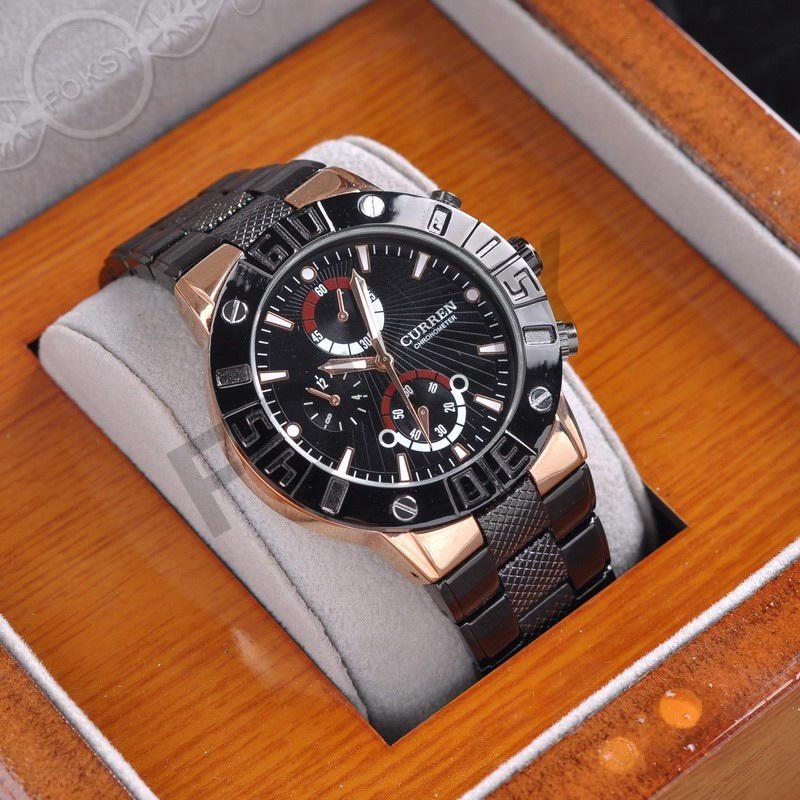 Prix pour Luxe deluxe Véritable CURREN Marque Hommes Casual montres De Mode d'affaires Montres Relogios Hommes Quartz Montres sport montres 0060