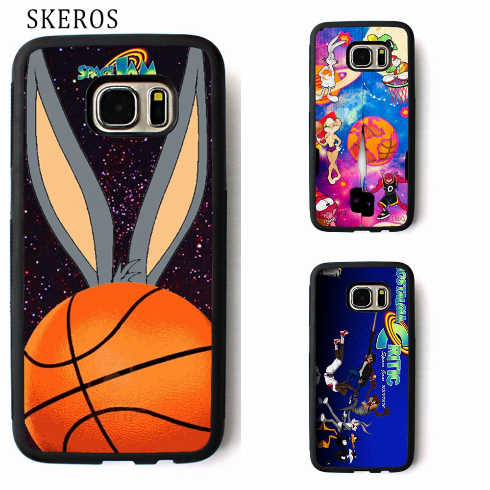 SKEROS space jam 6 phone case for Samsung Galaxy S3 S4 S5 S6 S7 S8 S6 edge S7 edge Note  ...