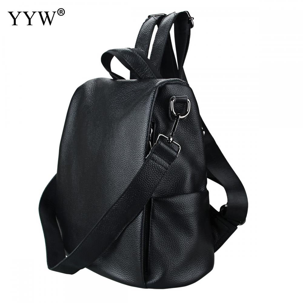 High Quality PU Leather Multifunction Backpack Durable Straps Casual Knapsack Large Capacity Softbag Shoulder Bags Women Men High Quality PU Leather Multifunction Backpack Durable Straps Casual Knapsack Large Capacity Softbag Shoulder Bags Women Men