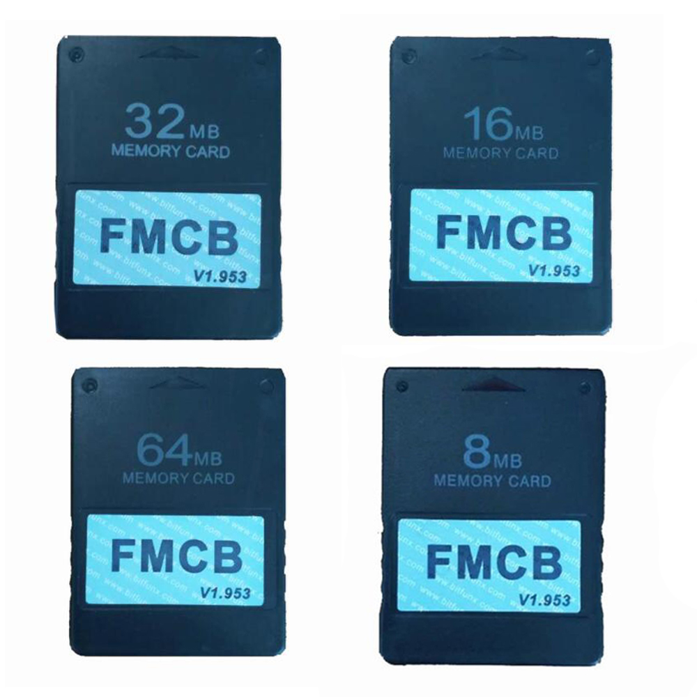 Free McBoot FMCB 1.953 For Sony Playstation2 PS2 8MB/16MB/32MB/64MB Memory Card Cards OPL MC Boot