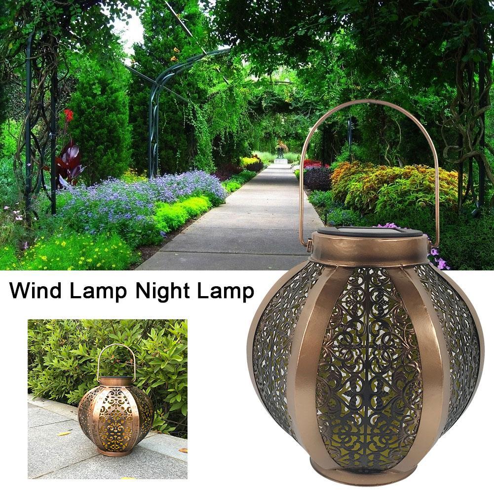 Solar Garden Light Waterproof Garden Decoration Wind Lamp Night Lamp Garden Lawn Light Ground Light