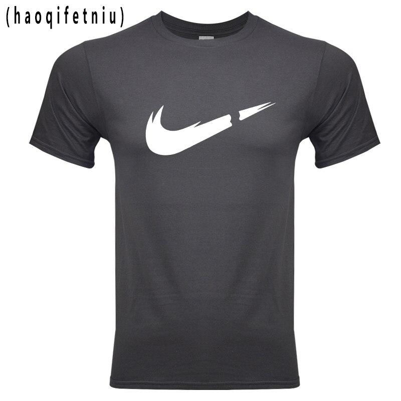 Casual de algodón de impresión de logotipo de los hombres Camiseta de manga corta de los hombres camiseta camisa de los hombres T camisa 2018