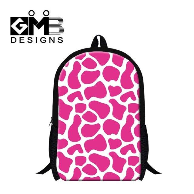 Stylish Giraffes Pattern School Bookbags for Children,Colorful ...