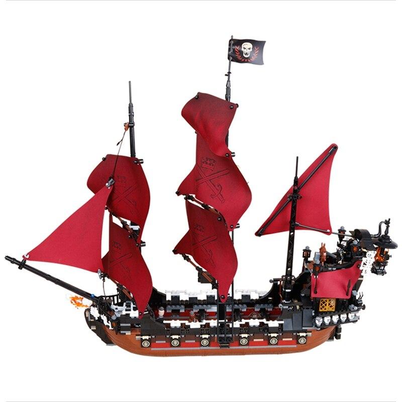 Lepin Königin Anne Rache 1151 Stücke Kompatibel Mit Lego Fluch Der