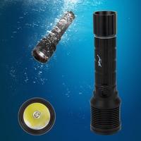 Bicycle light 1000 Lm XM L2 LED Scuba Diving Flashlight Torch Waterproof Light Lantern Led Lamp+6800mAh Battery+Charger