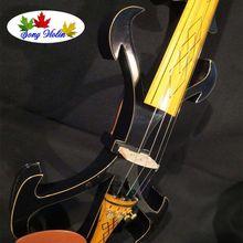 Новая модель crazy-2 Song art streamline 4/4 электрическая скрипка, твердая древесина