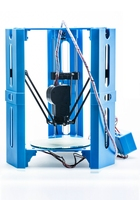 Cheap 3D printer Kossel Delta mini DIY desktop assembled 3D Printer Kit 1.75 Filament SD Card PLA Filament for home education