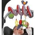 MAIS NOVO Baby Plush Multipurpose Bed Círculo Papel Som Mordedor Chocalhos de Brinquedo