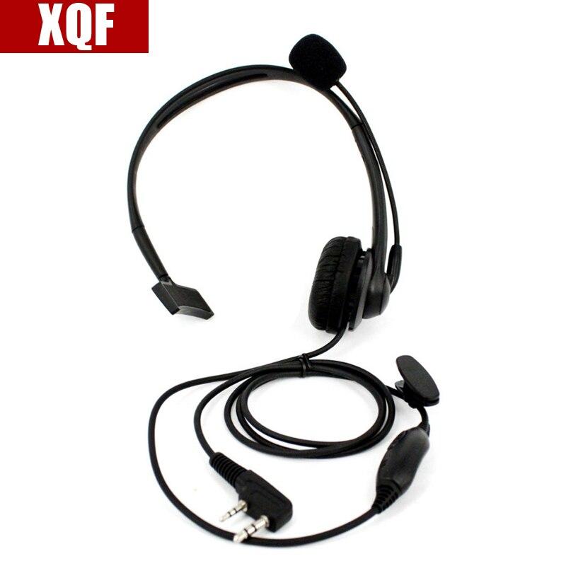 1x Headset Earpiece For Kenwood BAOFENG TYT LINTON UV-5R TG-UV2 Two Way Green