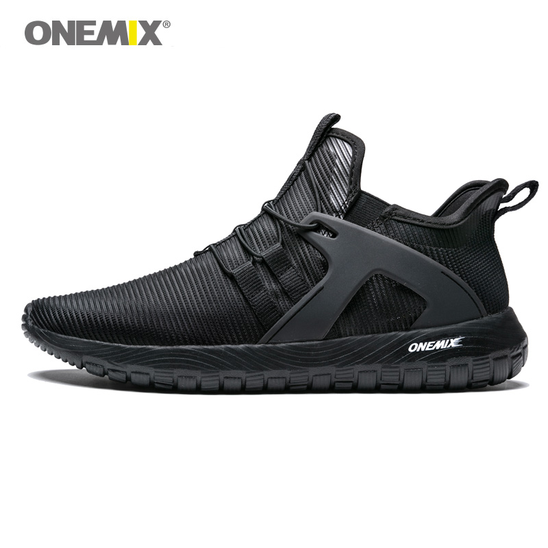 Onemix Men Running Shoes for Women Loafers Black Mesh Air Breathable Designer Jogging Sneakers Outdoor Sport walking Trainers onemix woman running shoes for women white mesh air breathable designer jogging sneakers outdoor sport walking tennis trainers