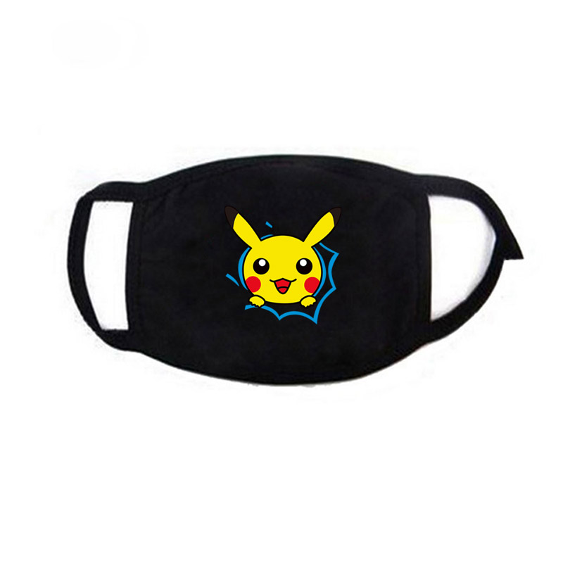 Unisex Cotton Anti-Dust Mouth Mask Muffle Breathable Anime Attack On Titan Pokemon Pocket Monster Cover Face Masks Cosplay 2019