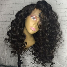 Eversilky Lace Front Human Hair Wigs Short Deep Wave Lace