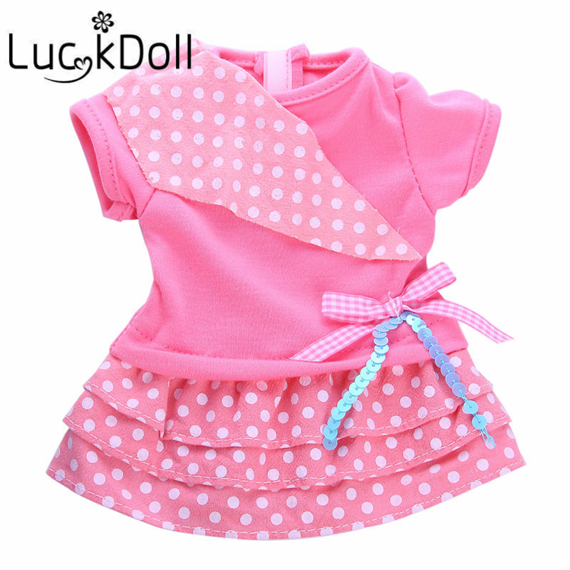 LUCKDOLL Doll High Quality Doll Clothes Cute Accessories Toys For 18-inch American Dolls And 43cm Dolls The Best Gifts image
