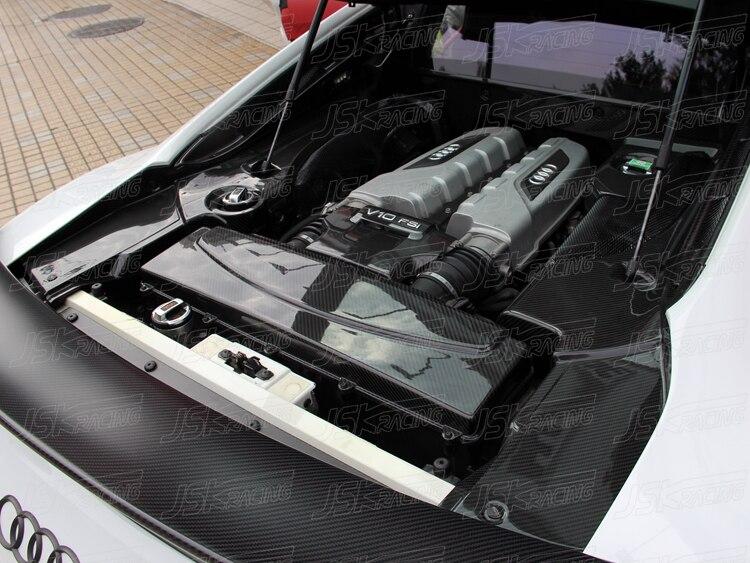 CARBON FIBER ENGINE BAY PANELS PCS FOR AUDI R V V - Audi r8 engine