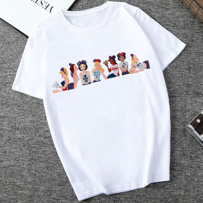 CZCCWD Summer Top 2019 Thin Section Female   T  -  shirt   Harajuku Fashion Princess Going Out To Play   T     Shirt   Leisure Streetwear Tshirt