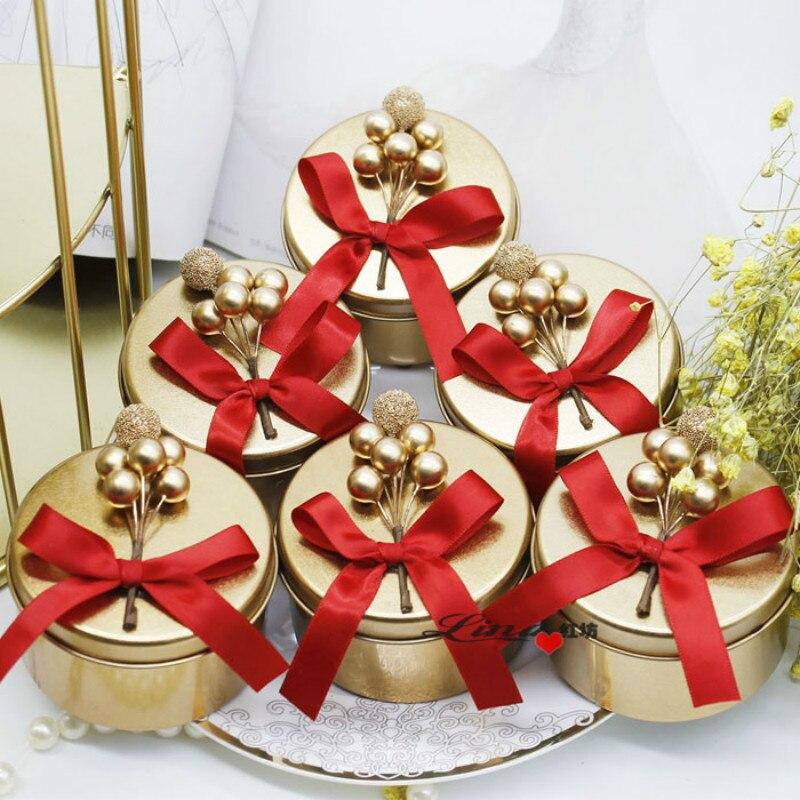 10/20/30pcs  Tinplate candy box, European wedding iron box for gift