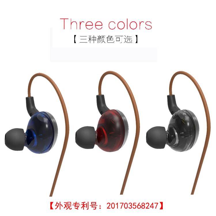 New SENFER EN900 2BA+2DD In Ear Earphone Hybrid 4 Driver Unit HIFI DJ Earphones Headset With MMCX Interface Free Shipping