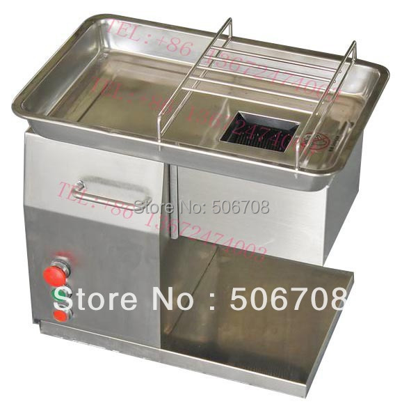 Free shipping 110V/220V  QX  meat slicer,  meat cutter machine,Widely used in the restaurant