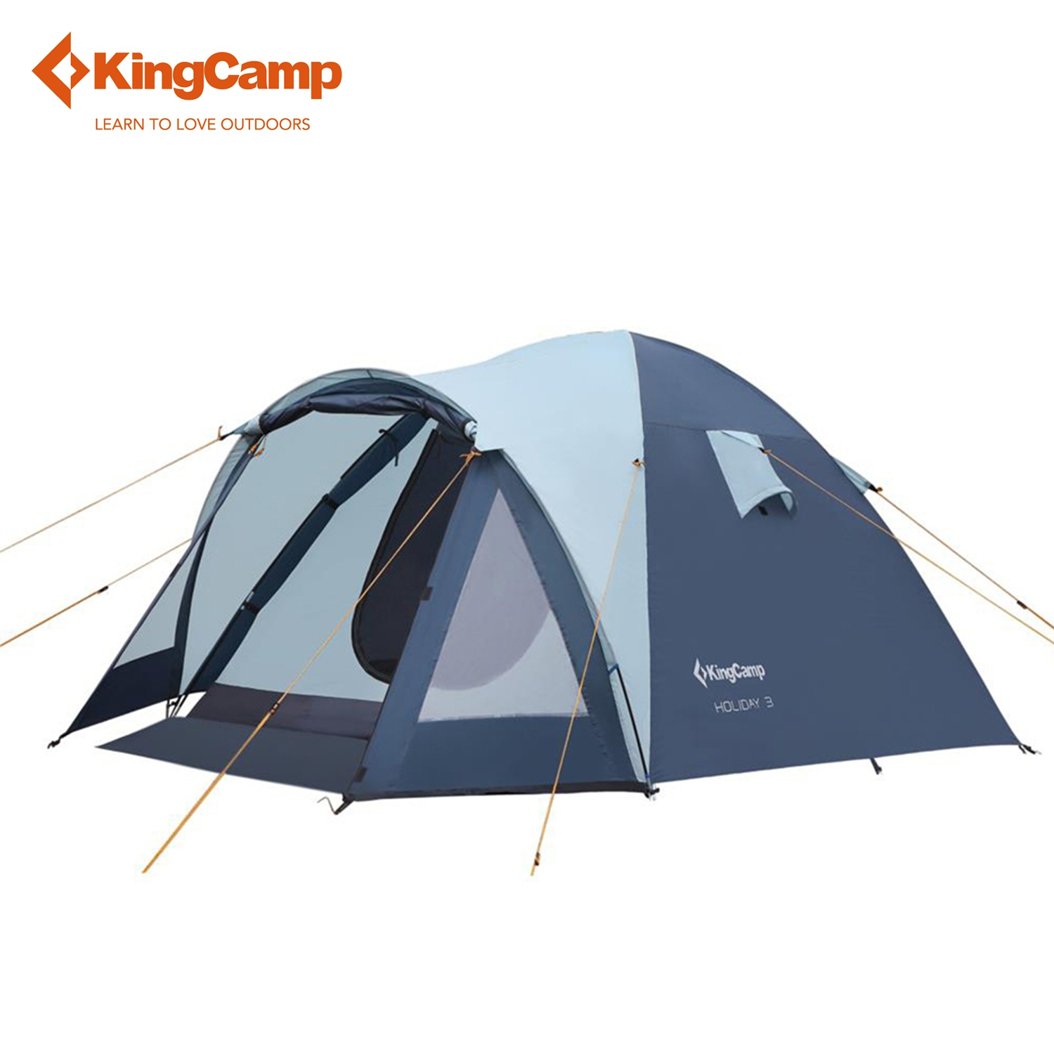 KingCamp Camping Tent Waterproof Holiday Fire-resistant 4-Person,3-Season Outdoor Tent for Family Camping fast acu pj carbon style vented airsoft tactical helmet ops core style high cut training helmet fast ballistic style helmet
