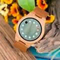 BOBO BIRD L-A03  бамбуковые часы с 12 отверстиями  циферблат  повседневные японские кварцевые часы для мужчин  Топ бренд  Роскошные Дизайнерские муж...