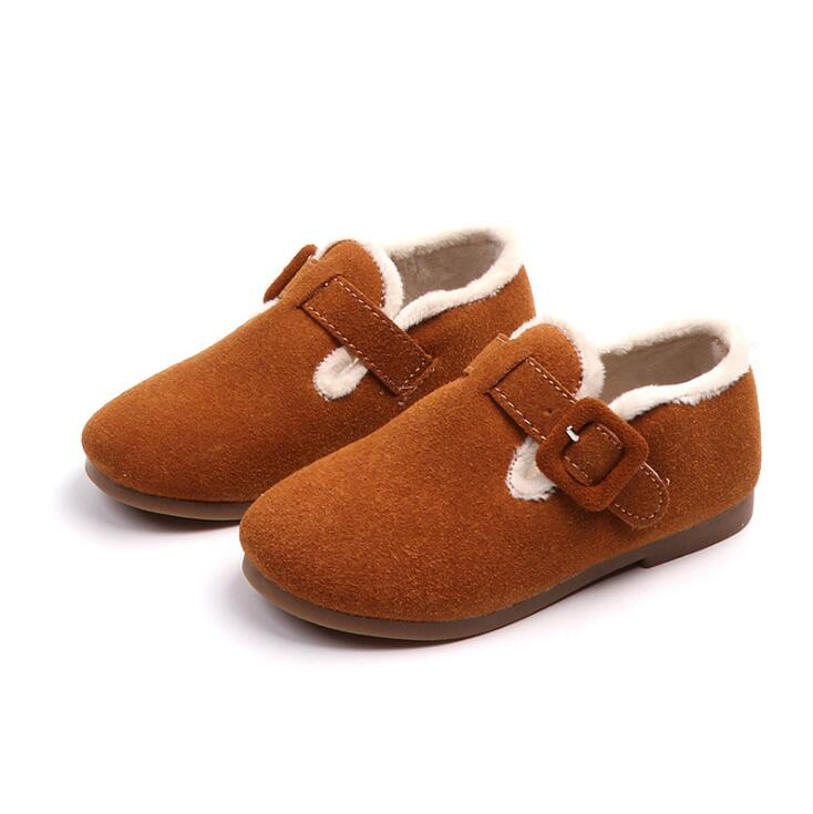 Kids Leather Shoes Loafers