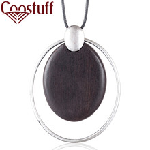 Hotsale New Sandalwood Pendant Fashion Women Jewelry necklaces & pendants women collares mujer choker kolye bijoux